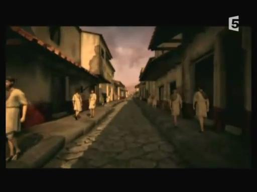 film documentaire vidéo le dernier jours de pompei decouverte ville entiere pratiquement intacte eruption du vésuve